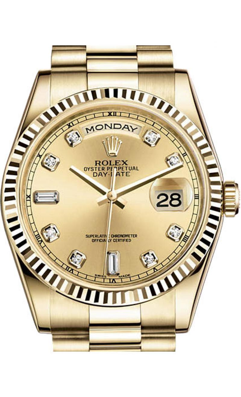 118238 chdp Rolex Yellow Gold Day-Date