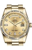 Rolex Day-Date 118238 chdp Yellow Gold