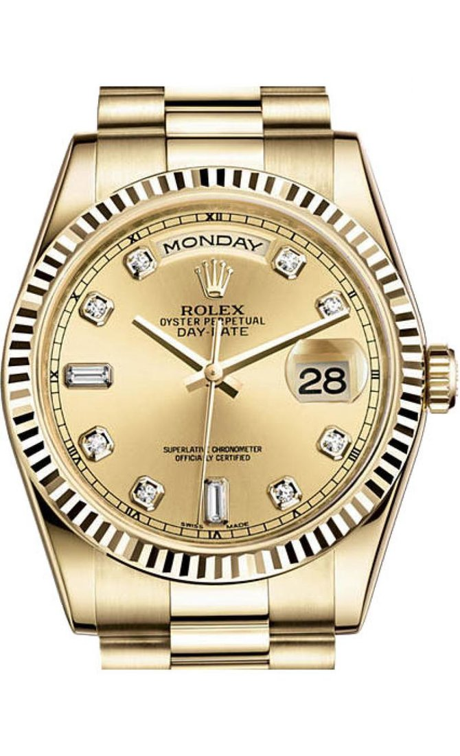 Rolex 118238 chdp Day-Date Yellow Gold - фото 1