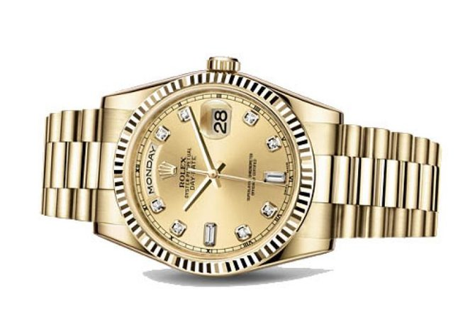 Rolex 118238 chdp Day-Date Yellow Gold - фото 2