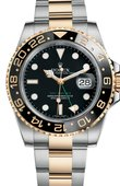 Rolex Часы Rolex GMT-Master II 116713LN Steel and Yellow Gold