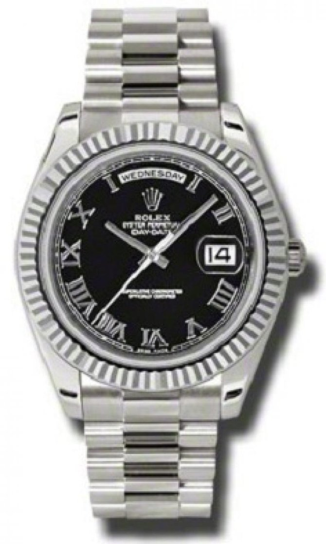 218239 bkrp Rolex White Gold Day-Date