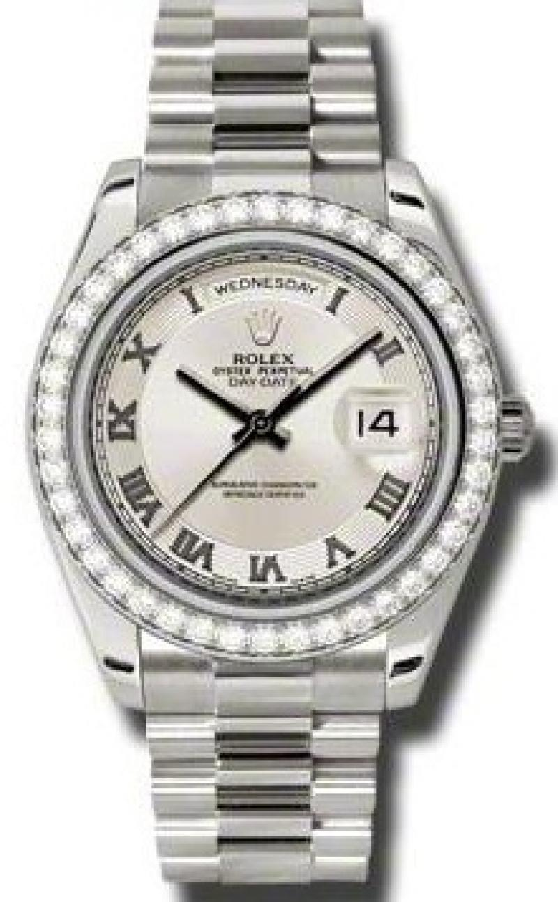 218349 icrp Rolex White Gold Day-Date