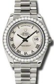 Rolex Day-Date 218349 icrp White Gold