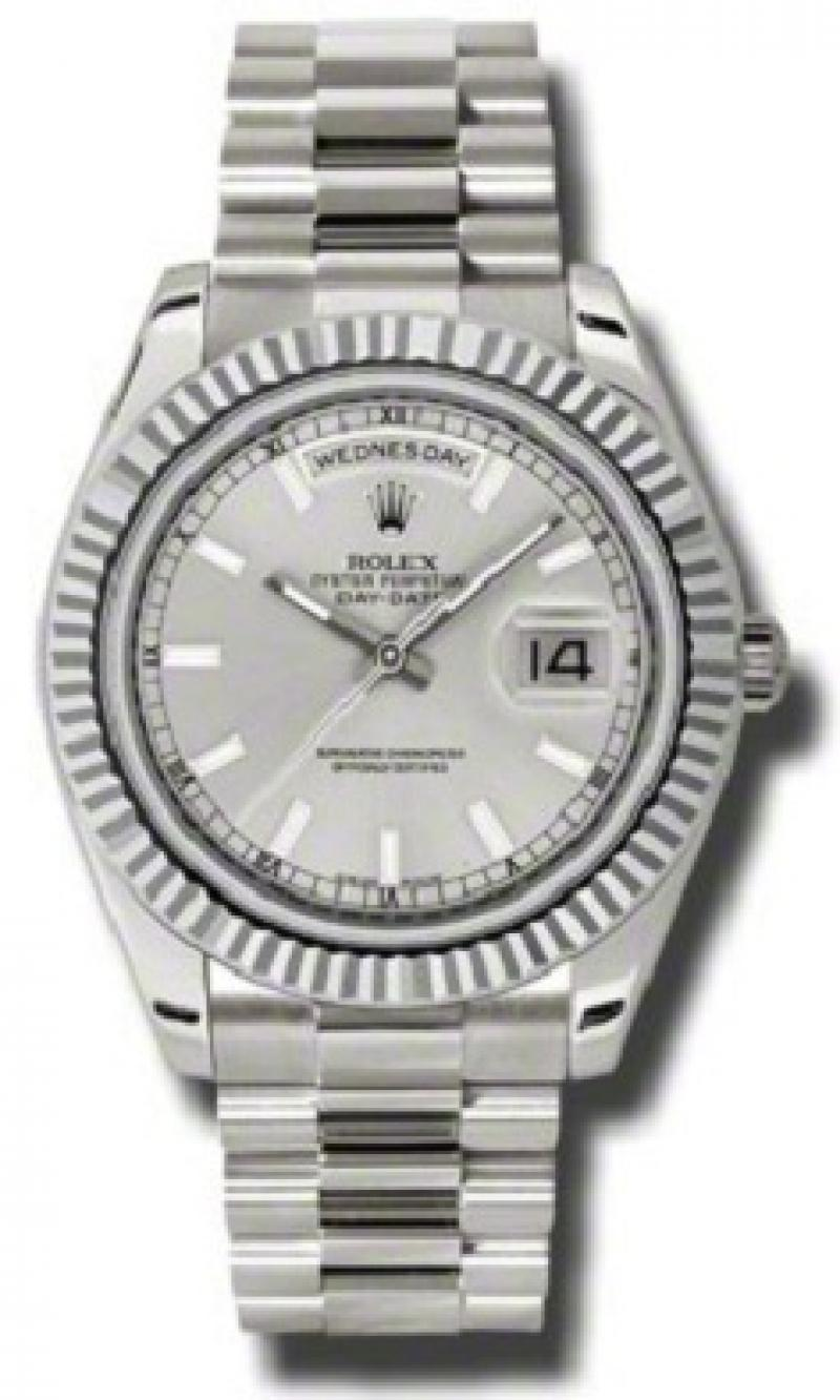 218239 sip Rolex White Gold Day-Date