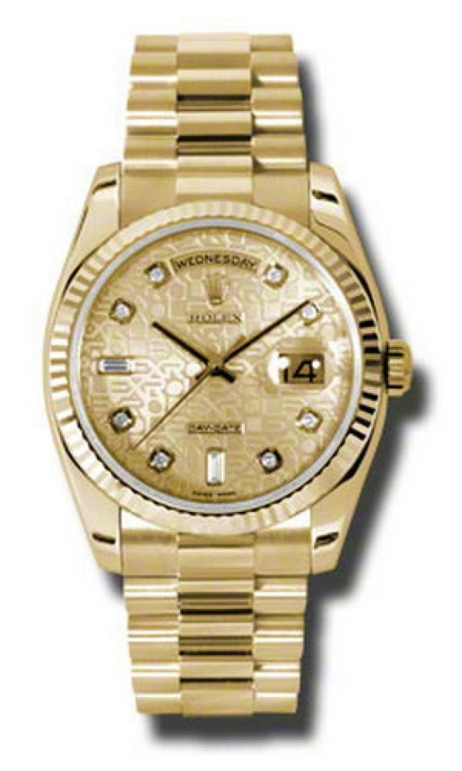 118238 chjdp Rolex Yellow Gold Day-Date