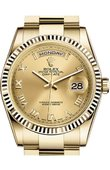 Rolex Day-Date 118238 chro Yellow Gold