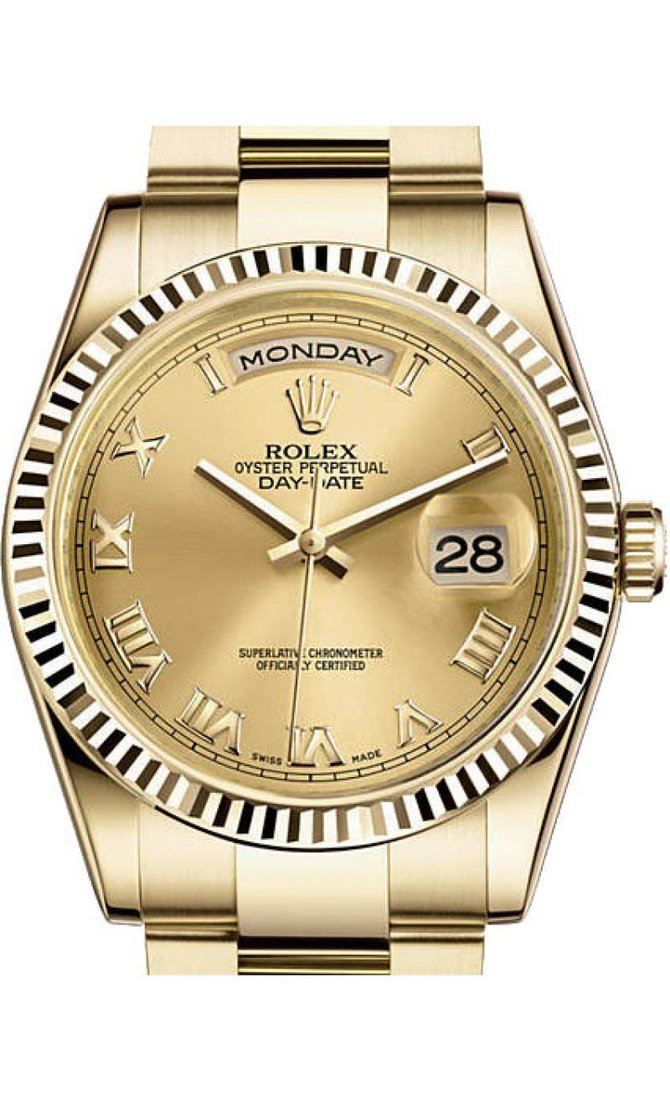 118238 chro Rolex Yellow Gold Day-Date