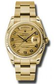 Rolex Day-Date 118238 chwao Yellow Gold