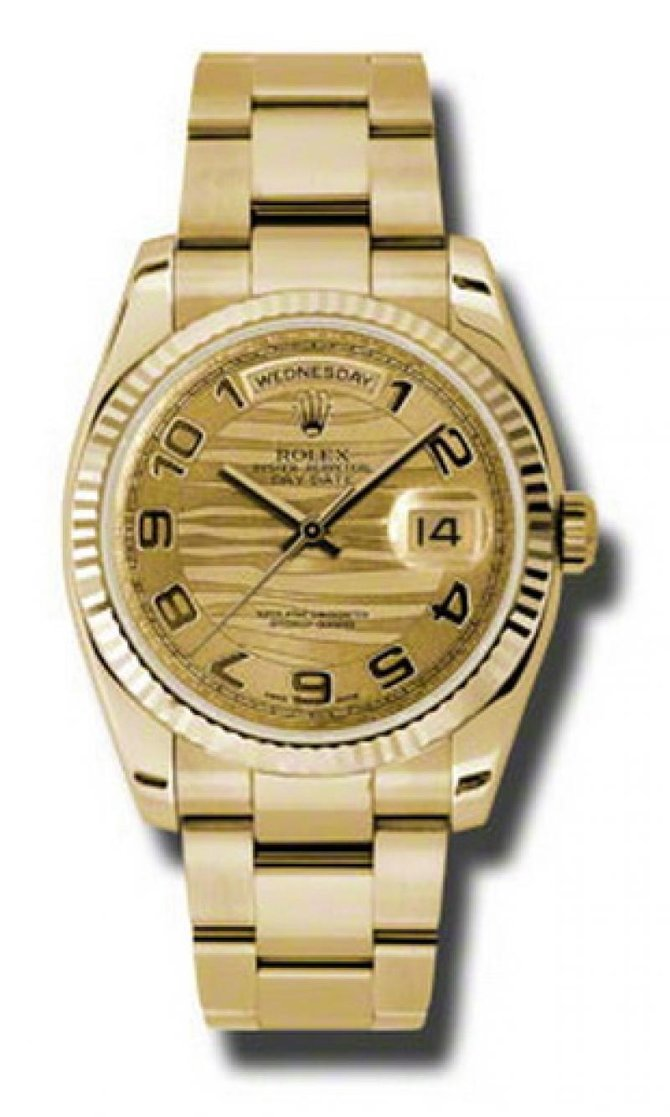 118238 chwao Rolex Yellow Gold Day-Date