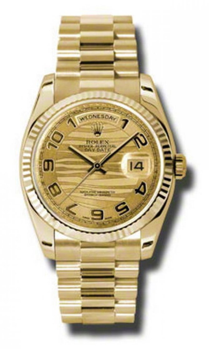 118238 chwap Rolex Yellow Gold Day-Date