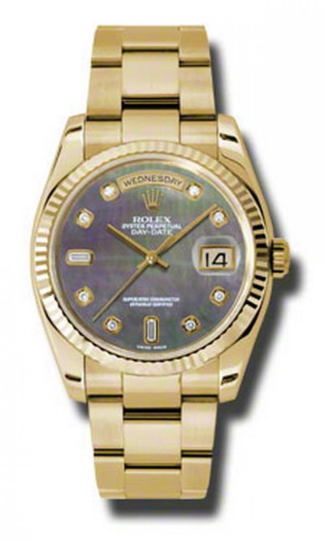 Rolex 118238 dkmdo Day-Date Yellow Gold - фото 1