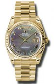 Rolex Day-Date 118238 dkmrp Yellow Gold
