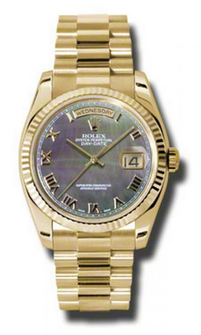 Rolex 118238 dkmrp Day-Date Yellow Gold - фото 1