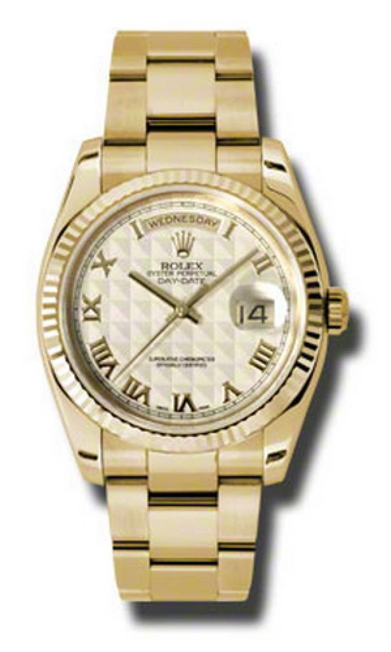 118238 ipro Rolex Yellow Gold Day-Date