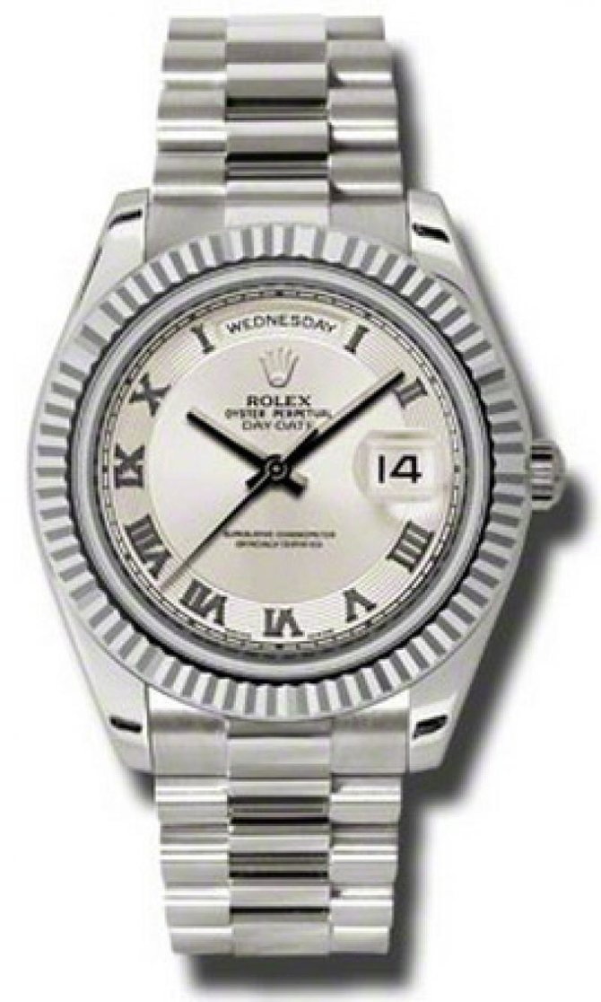 Rolex 218239 icrp Day-Date White Gold - фото 1