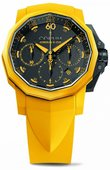 Corum Admirals Cup Challenger Challenger 44 Chrono Rubber Yellow Chrono Rubber 44