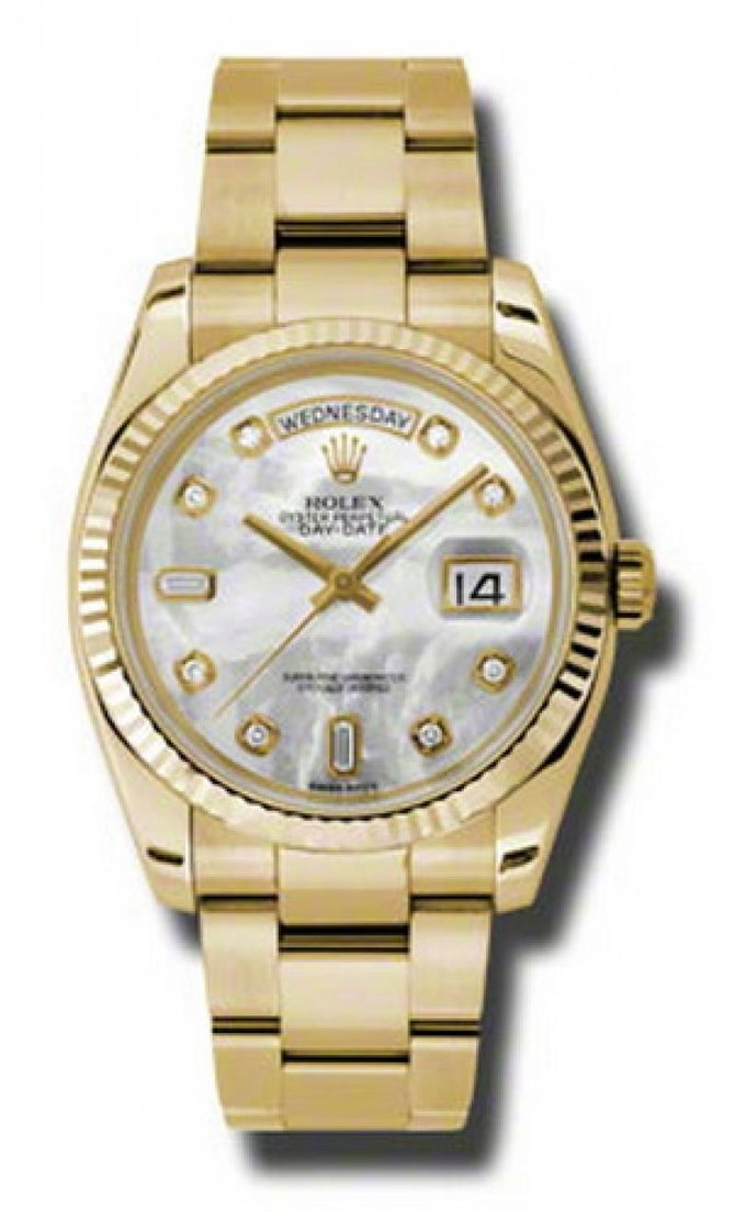118238 mdo Rolex Yellow Gold Day-Date