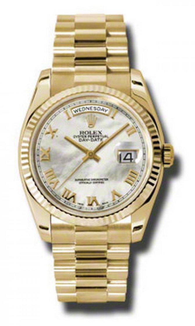 Rolex 118238 mrp Day-Date Yellow Gold - фото 1
