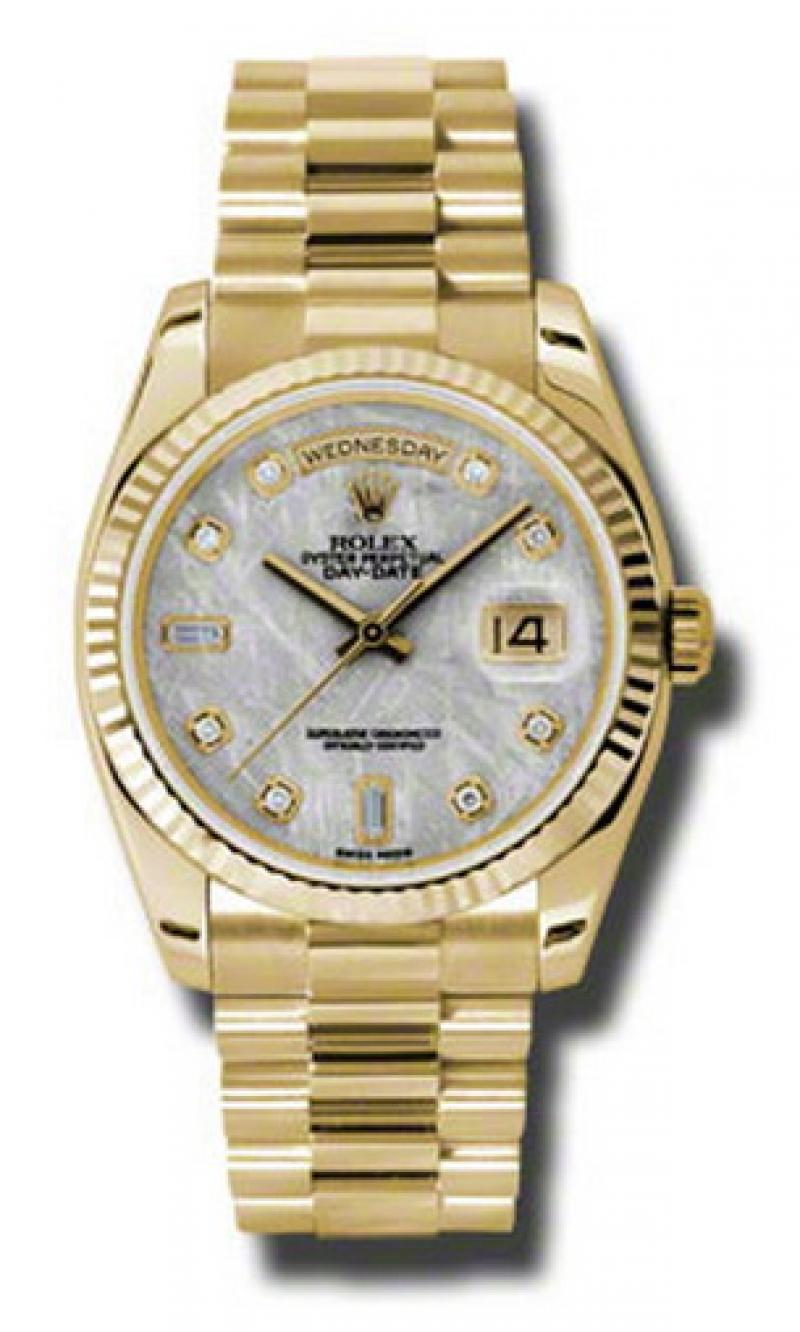 118238 mtdp Rolex Yellow Gold Day-Date