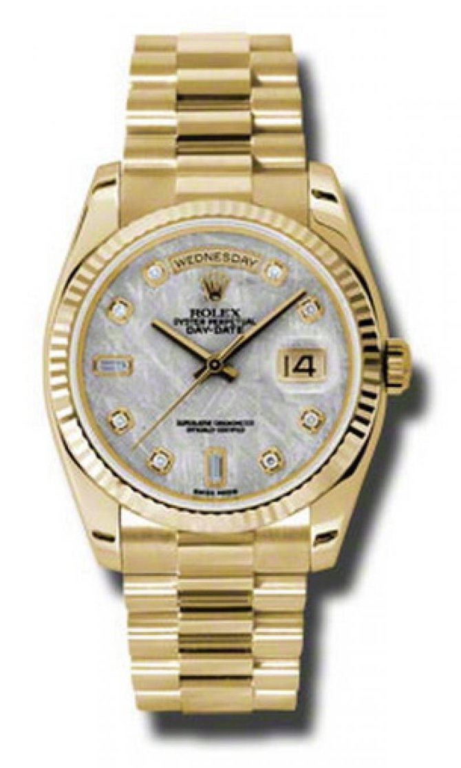 Rolex 118238 mtdp Day-Date Yellow Gold - фото 1