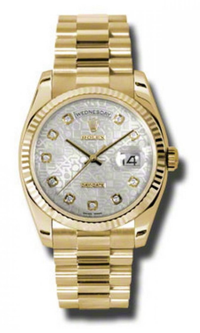 118238 sjdp Rolex Yellow Gold Day-Date