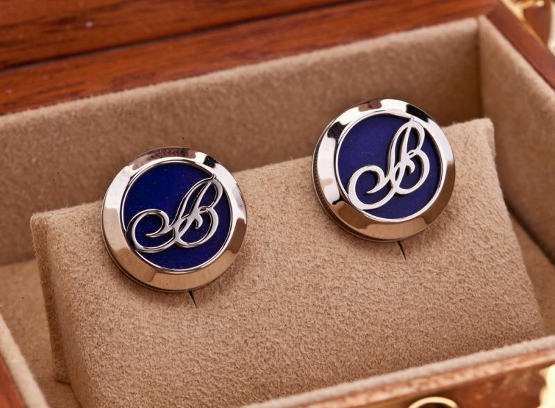 9903.BB.LS Breguet White Gold and Lapis Lazuli Accessories