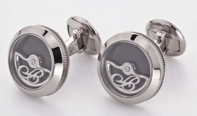 9907.BB.OX Breguet White Gold & Onyx Accessories