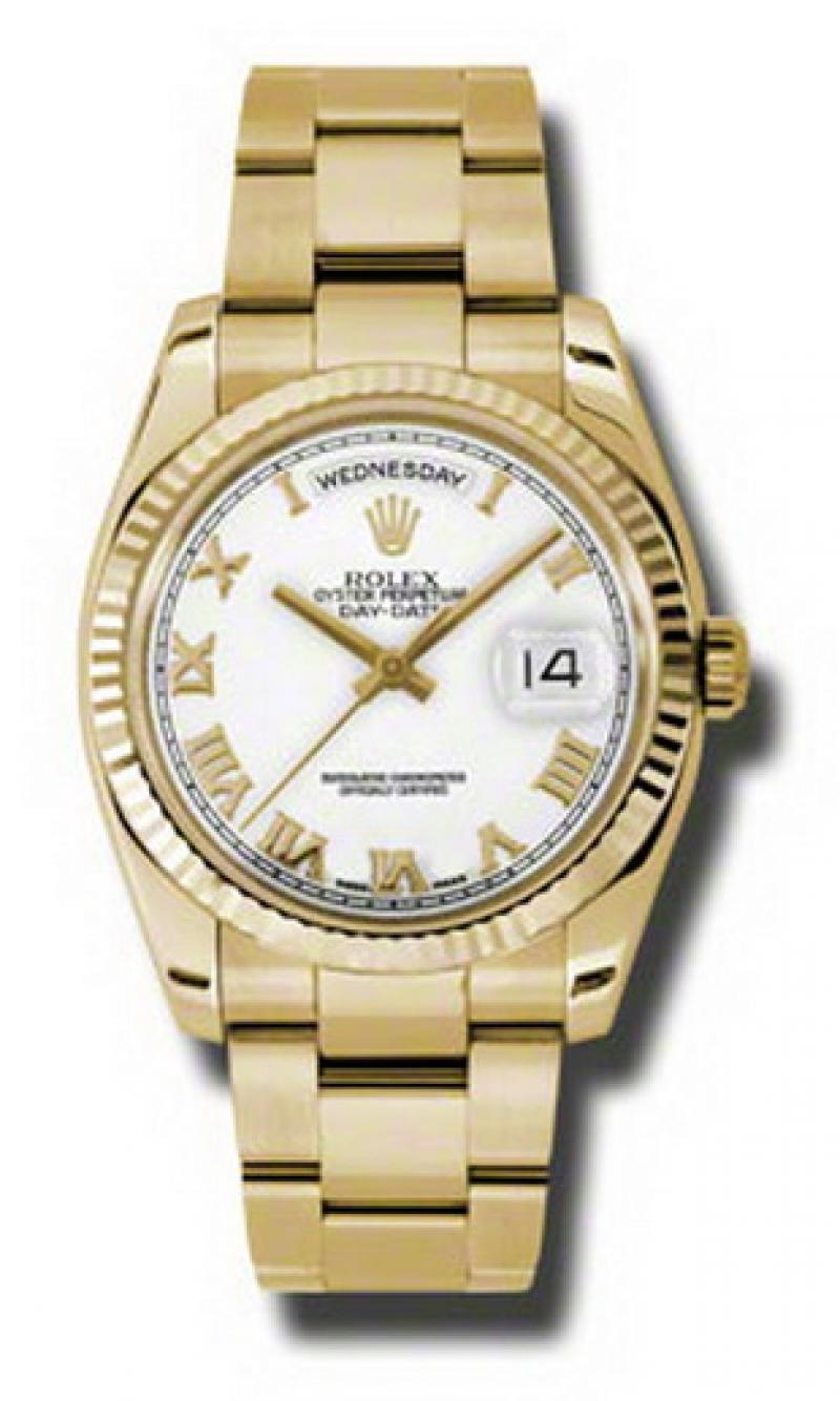 118238 wro Rolex Yellow Gold Day-Date