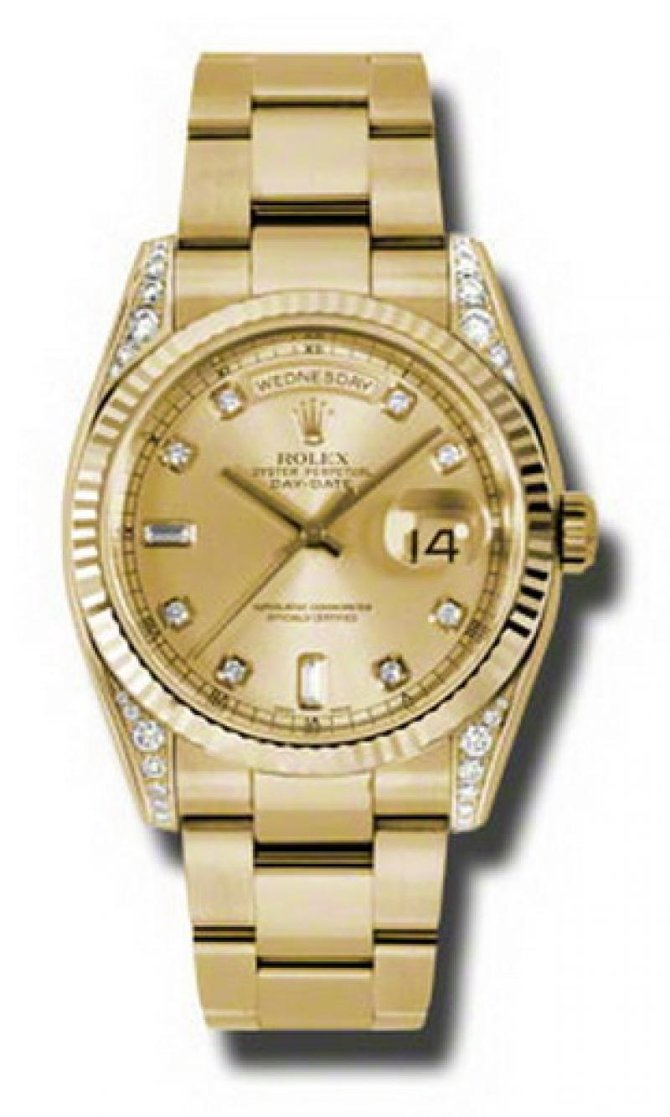 Rolex 118338 chdo Day-Date Yellow Gold - фото 1