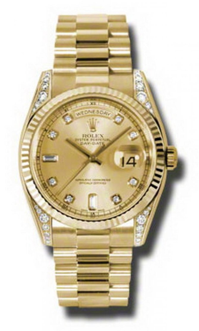 118338 chdp Rolex Yellow Gold Day-Date