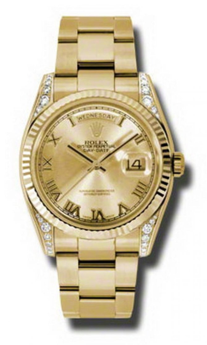 118338 chro Rolex Yellow Gold Day-Date