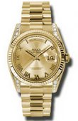 Rolex Day-Date 118338 chrp Yellow Gold