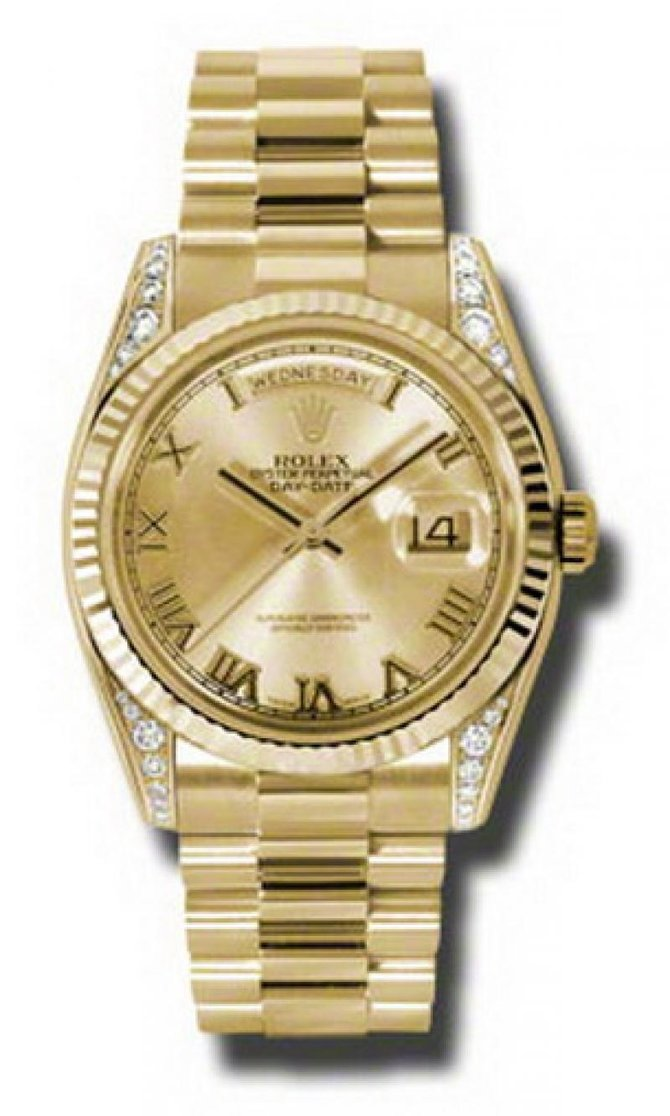 Rolex 118338 chrp Day-Date Yellow Gold - фото 1