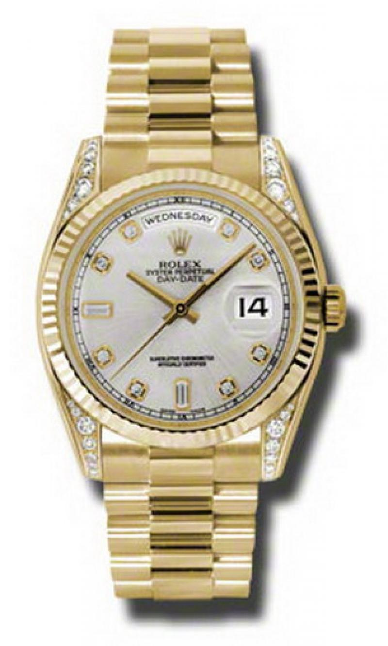 118338 sdp Rolex Yellow Gold Day-Date