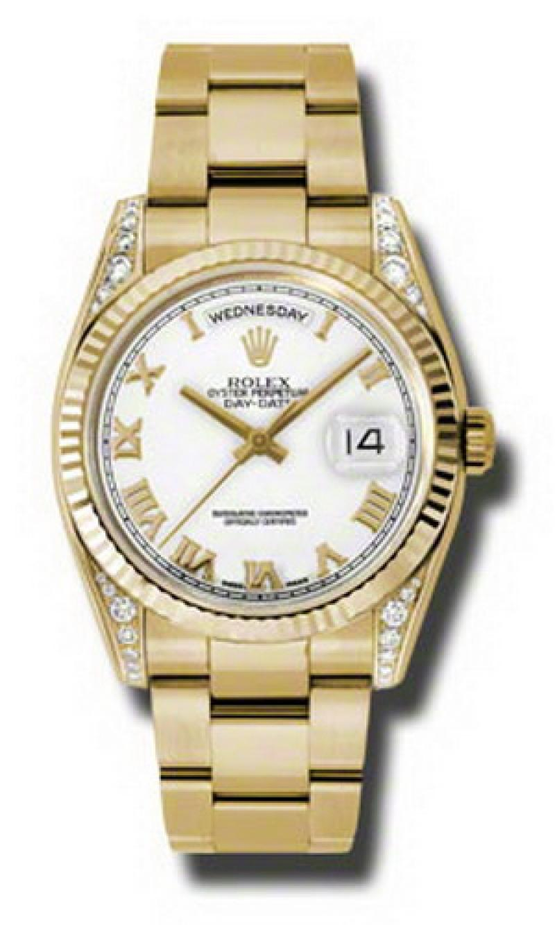 118338 wro Rolex Yellow Gold Day-Date