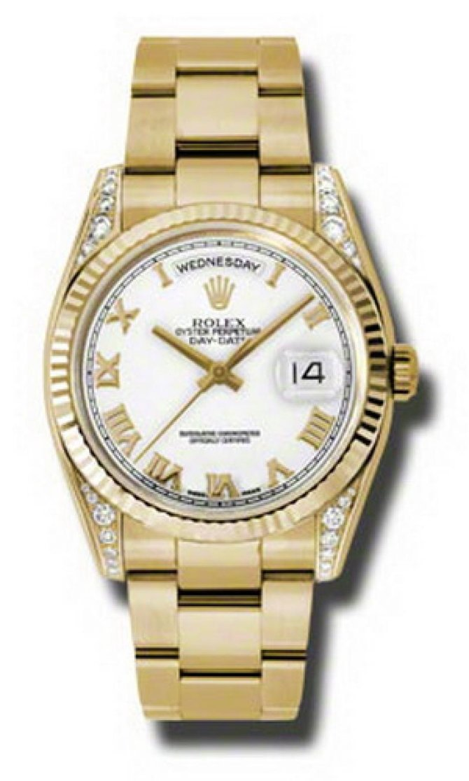 Rolex 118338 wro Day-Date Yellow Gold - фото 1