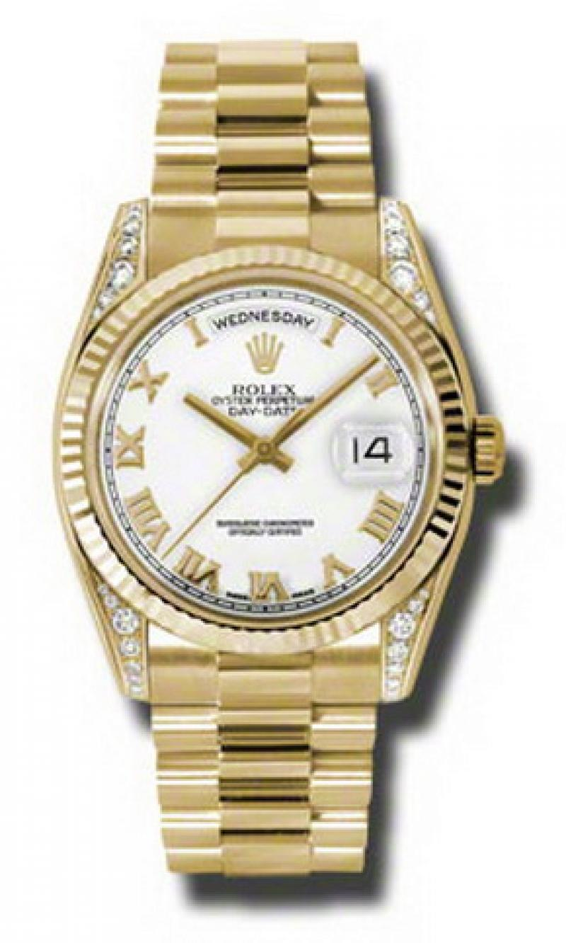 118338 wrp Rolex Yellow Gold Day-Date