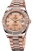 Rolex Day-Date 218235 pink diamonds Everose Gold