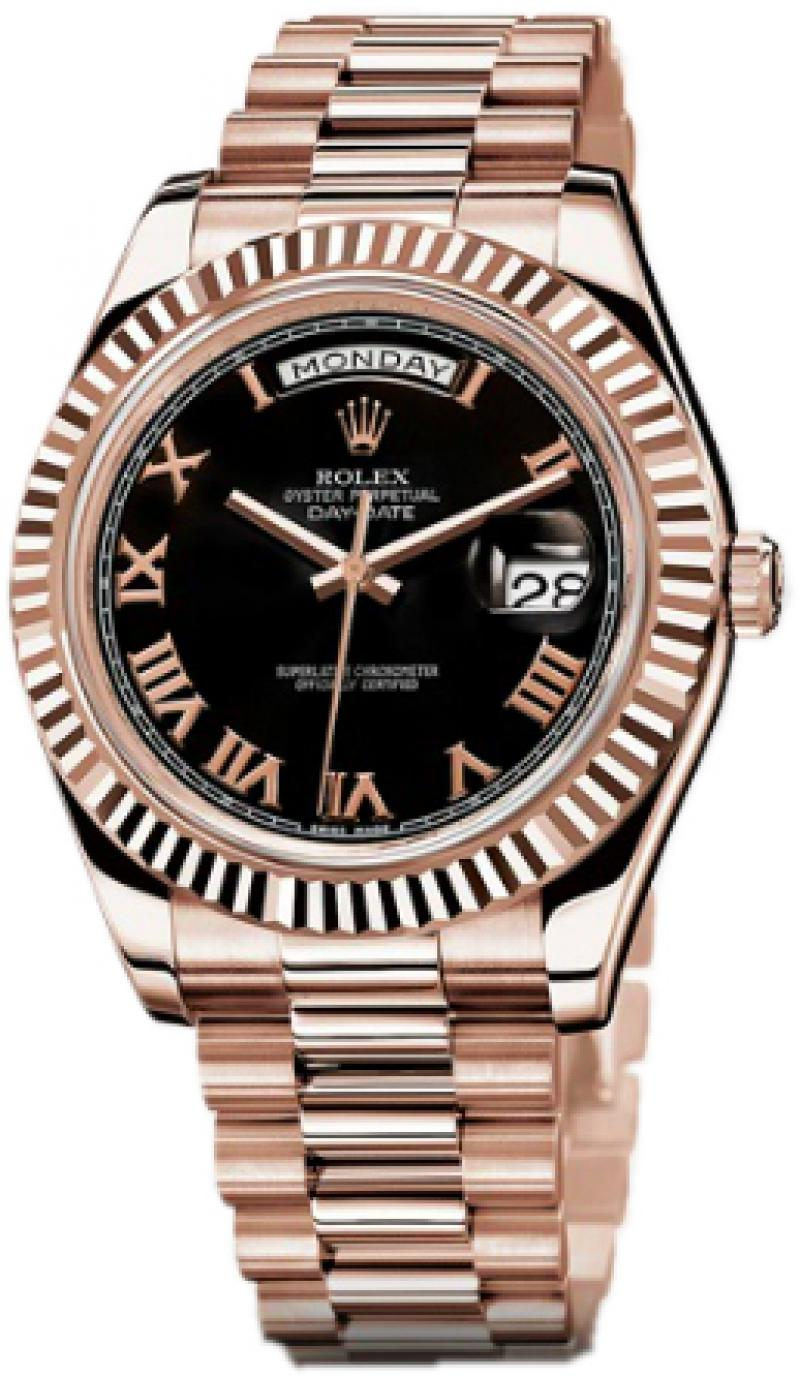 218235 bkrp Rolex Everose Gold Day-Date