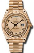 Rolex Day-Date 218235 chcrp Everose Gold