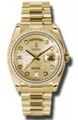 Rolex Day-Date 118348 chjdp Yellow Gold