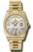 Rolex Day-Date 118348 mdp Yellow Gold