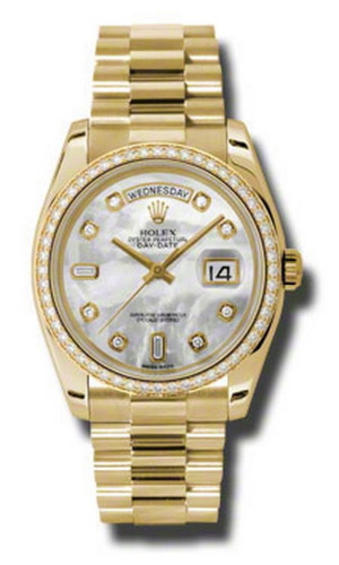 Rolex 118348 mdp Day-Date Yellow Gold - фото 1