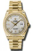 Rolex Day-Date 118348 sdp Yellow Gold