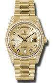 Rolex Day-Date 118388 chjdp Yellow Gold