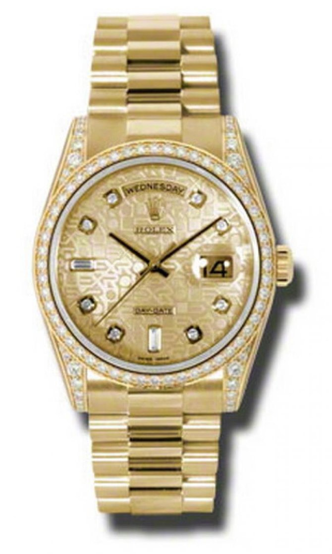 118388 chjdp Rolex Yellow Gold Day-Date