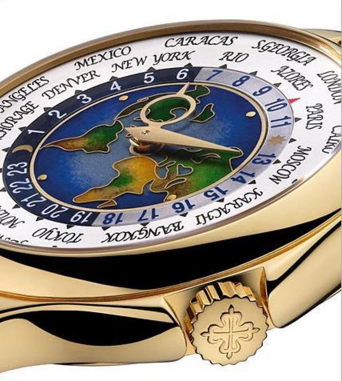Patek Philippe 5131J-001 Complications World Time - фото 4