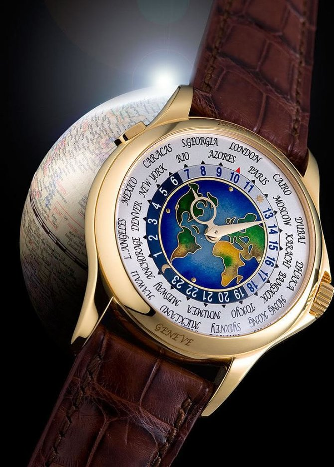 Patek Philippe 5131J-001 Complications World Time - фото 2