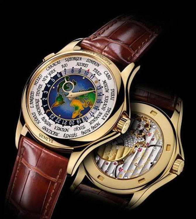 Patek Philippe 5131J-001 Complications World Time - фото 3